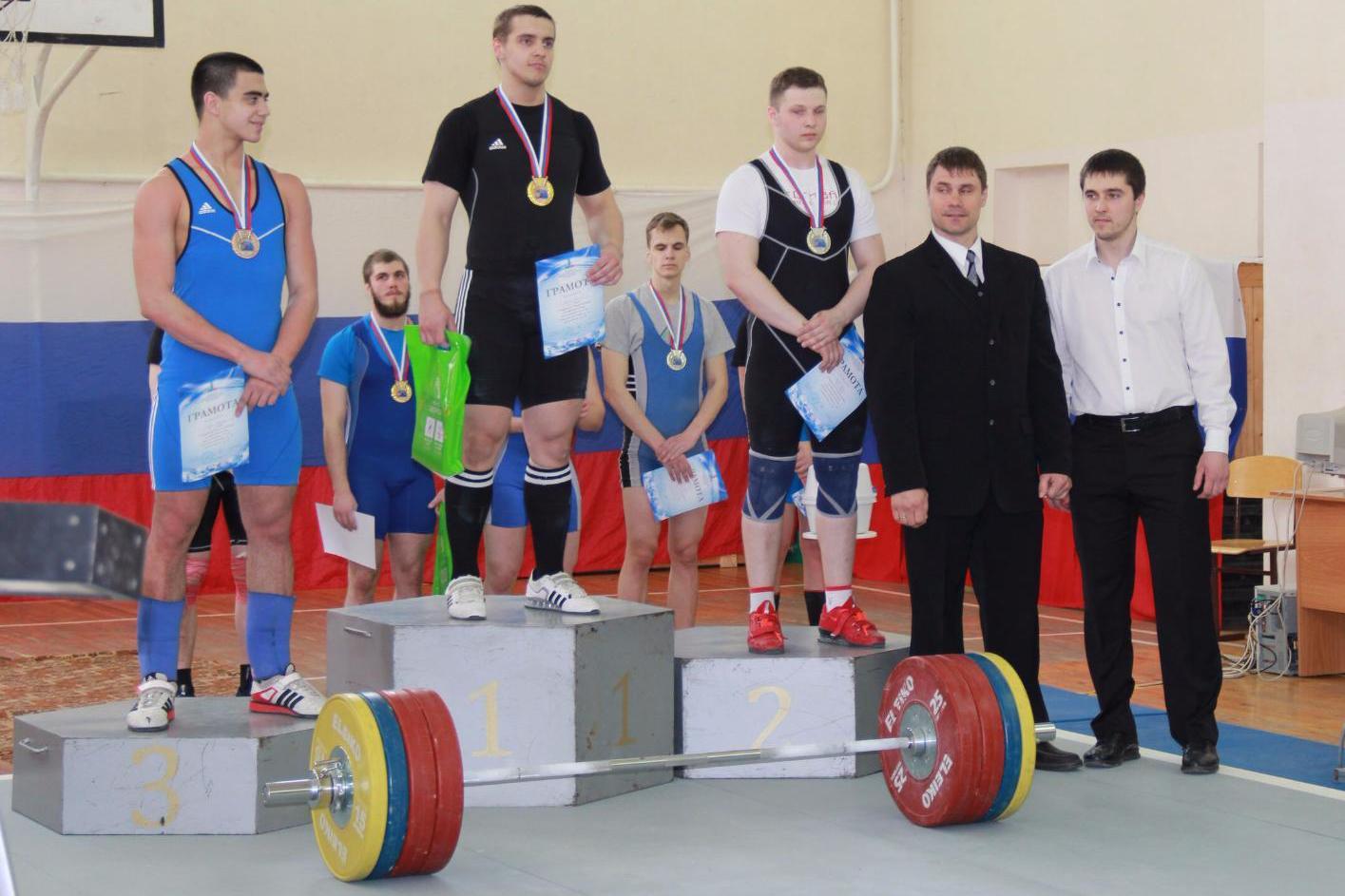 Успехи учащихся отделения тяжёлой атлетики на Первенстве области