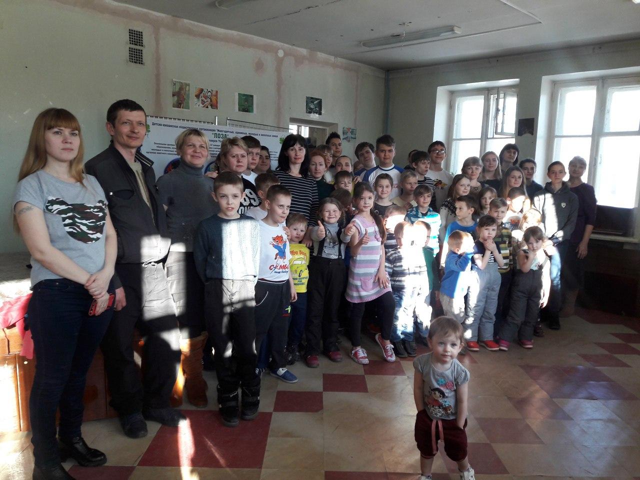 Волонтеры СПК помогли в проведении заключительного мероприятия Декады многодетных семей