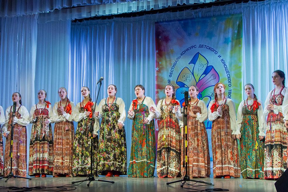 Ансамбль народной песни «Садко» продемонстрировал своё мастерство на «Палитре талантов»