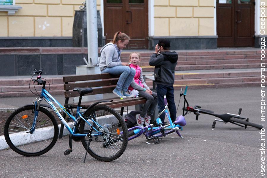 В городе уже начали красть велосипеды, полиция просит быть бдительными