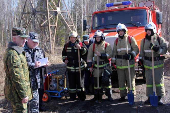 Силы и средства к пожароопасному сезону готовы
