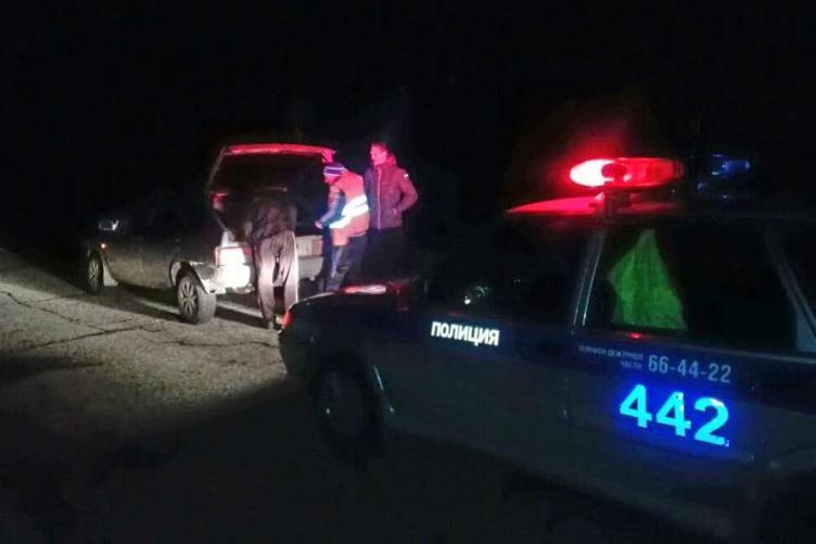 Сотрудники ДПС помогли водителю, заблудившемуся возле поселка Самусь