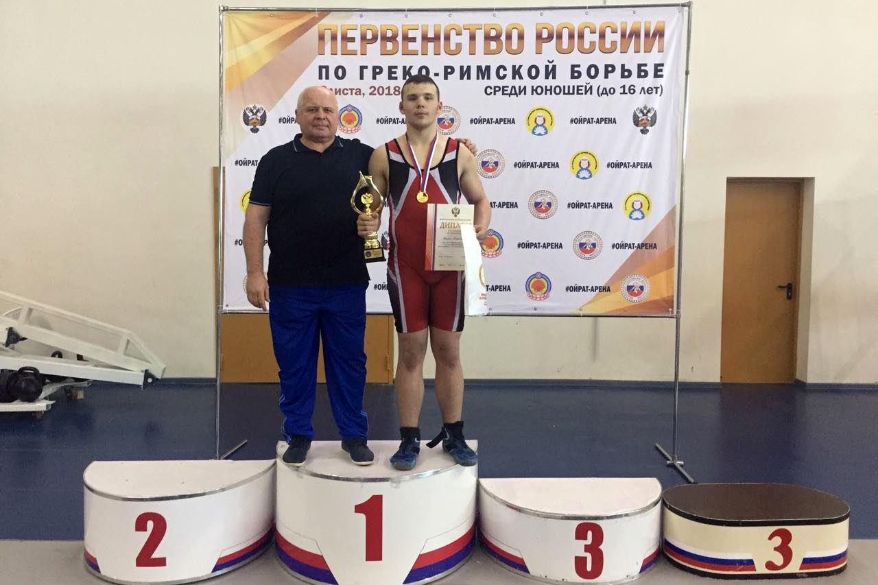 Уверенная победа Максима Паненкова на Первенстве России по греко-римской борьбе