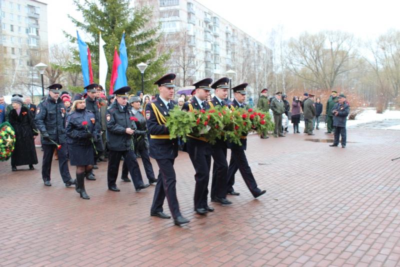 Сотрудники УМВД России по ЗАТО Северск приняли участие в мероприятиях, посвященных 73-й годовщине Великой Победы