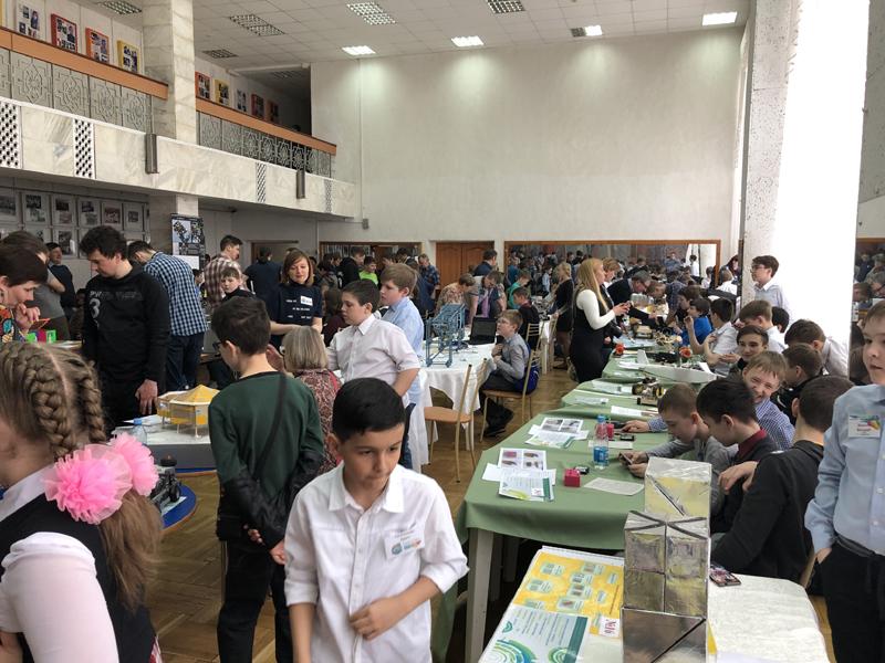 VIII региональная выставка научно-технического творчества детей и молодёжи