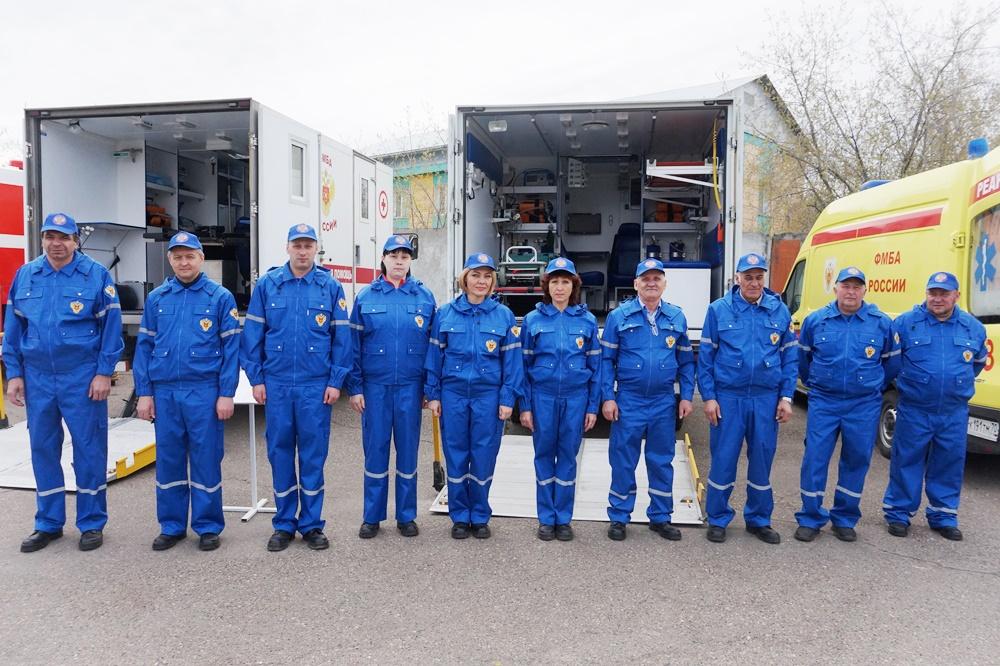 Сотрудники СибФНКЦ приняли участие в выездном заседании оперативного штаба Томской области