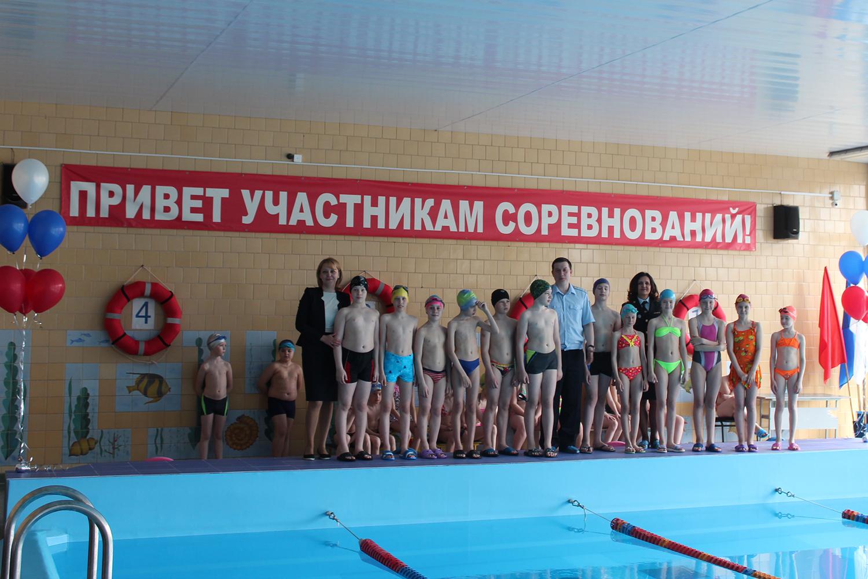 Полицейские провели соревнования по плаванию