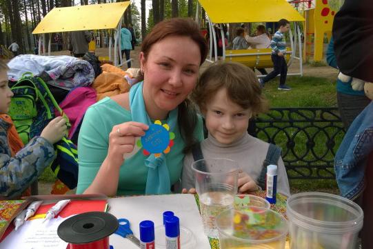 Приход Владимирской иконы Божией Матери организовал праздник, посвященный Дню защиты детей