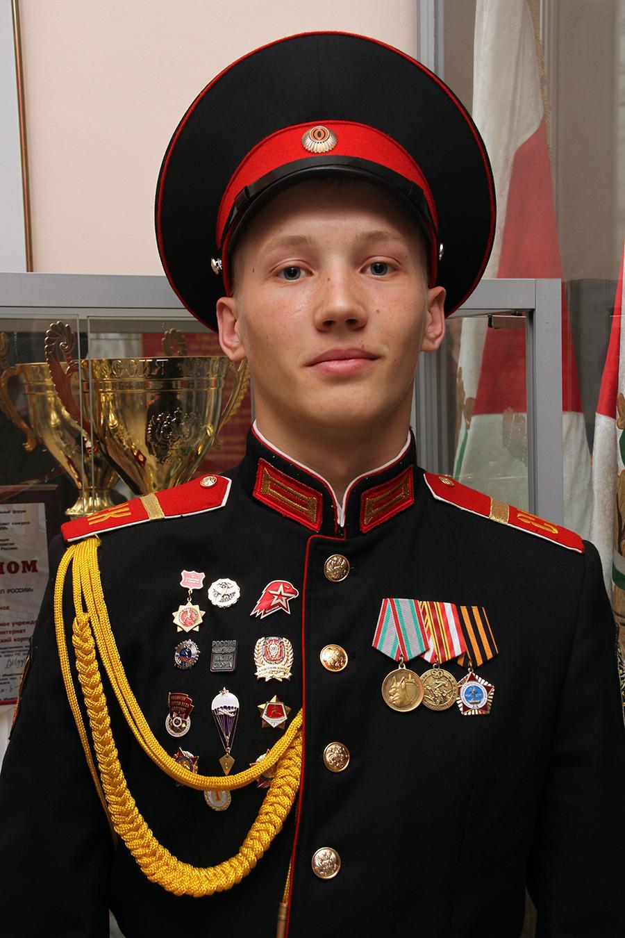 Первому юнармейцу Томской области вручен высший знак отличия Всероссийского детско-юношеского военно-патриотического движения