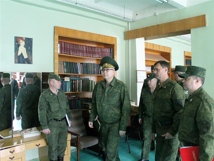Представители Центрального аппарата Росгвардии высоко оценили опыт северского соединения в области патриотического воспитания молодежи