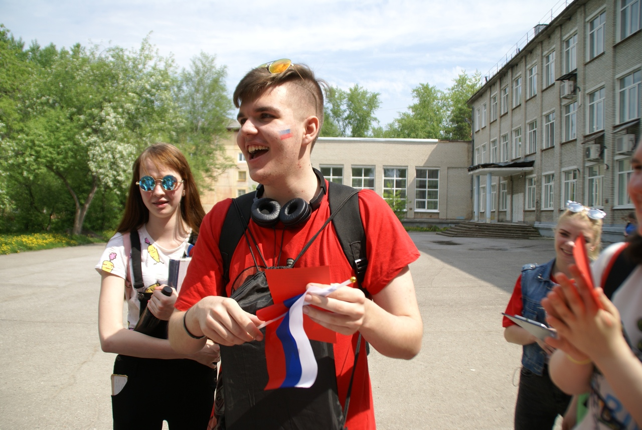 В колледже прошла акция, посвященная Дню России