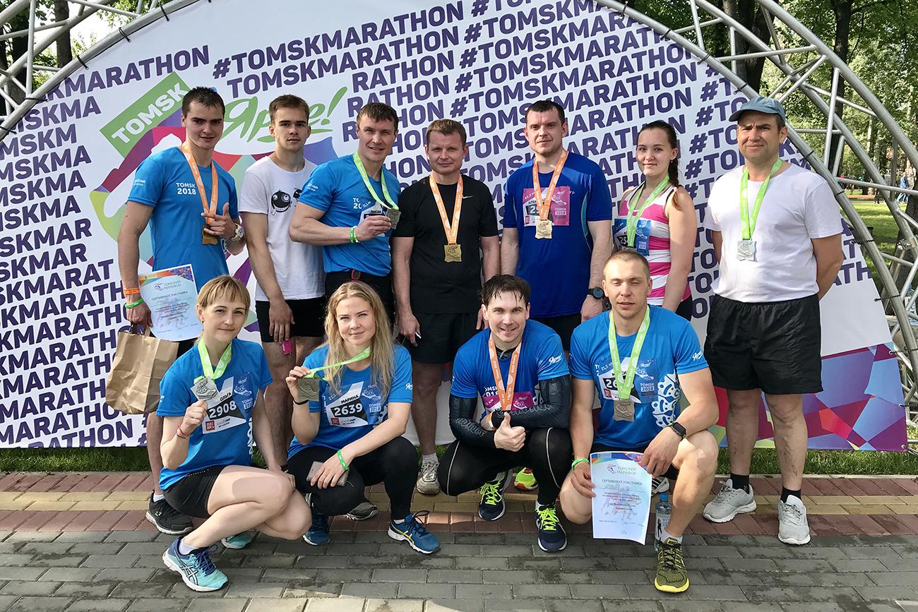 Северчане приняли участие в Международном Томском марафоне