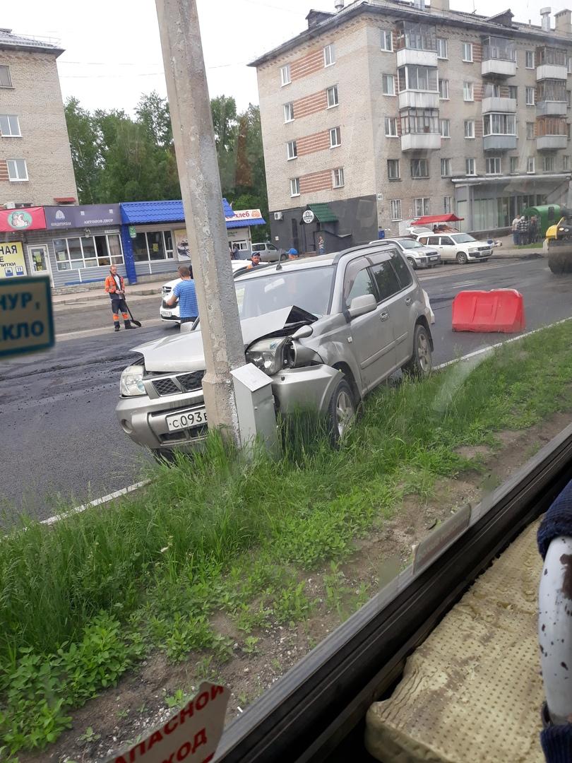 ДТП на остановке «Спутник»