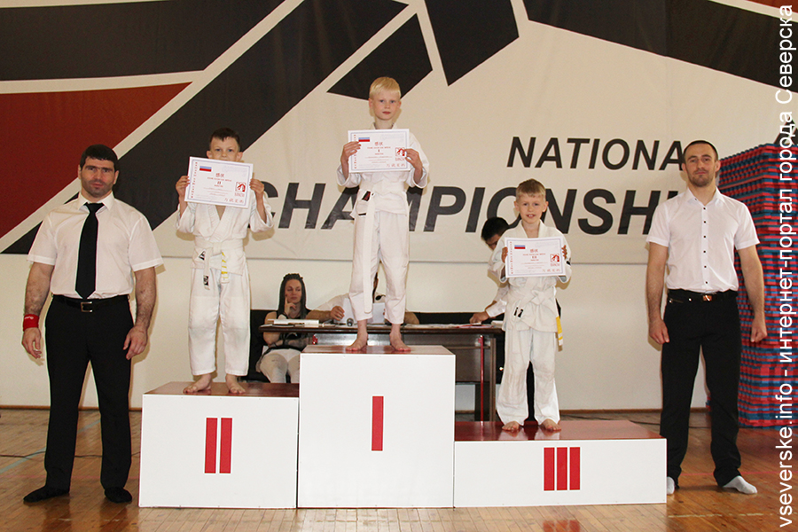 Юные джитсеры успешно выступили на соревнованиях