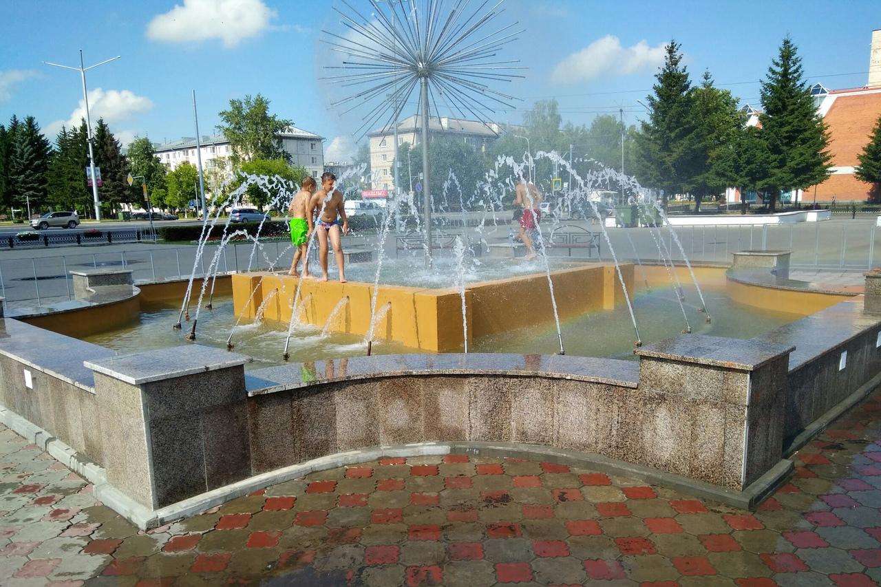 Ремонт городского фонтана