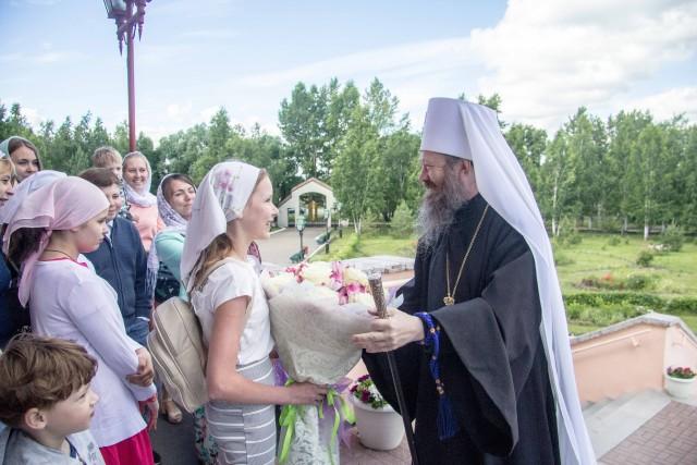 В храме Северска отметили престольный праздник