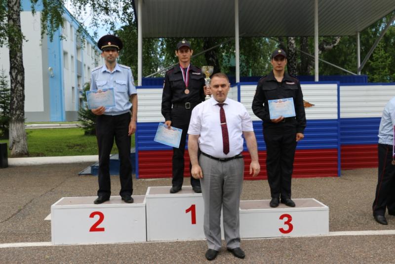 Итоги региональной спартакиады сотрудников органов внутренних дел