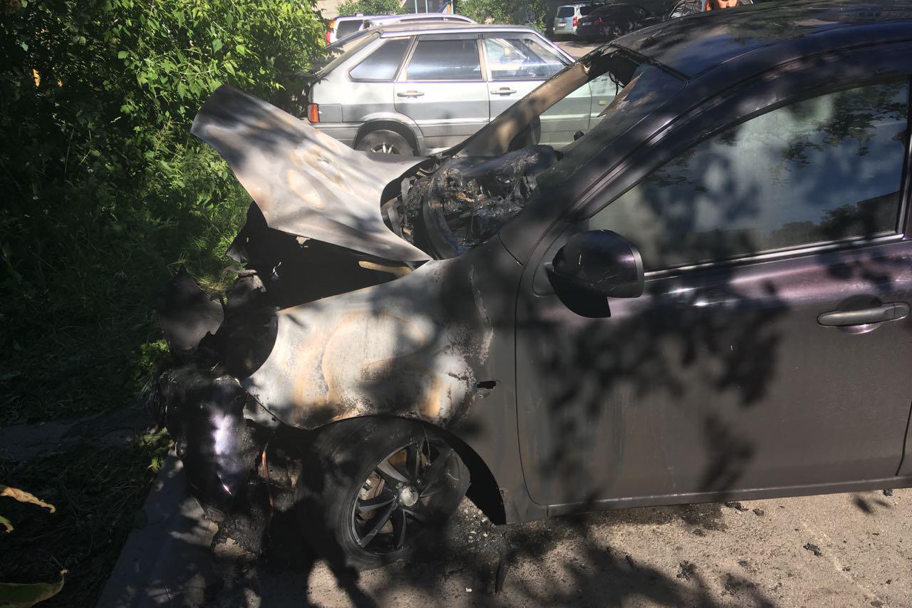 Ищу свидетелей поджога автомобиля