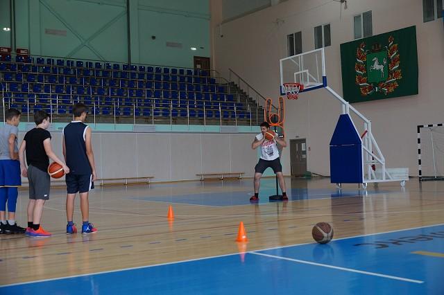 Команда Северской гимназии готовится к Президентским спортивным играм