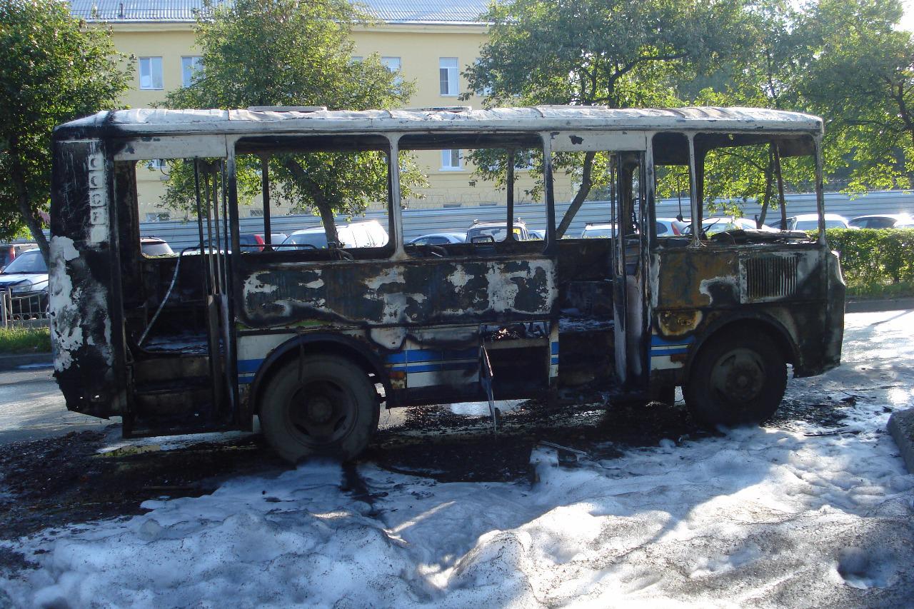 ПАЗ прокомментировал сообщение о возгорании маршрутного автобуса