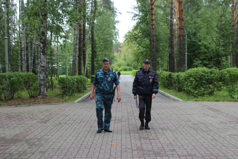 В городе прошло оперативно-профилактическое мероприятие «Территория безопасности»