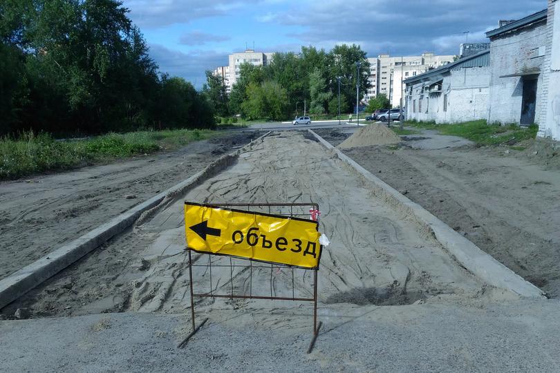 Новый проезд возле Томлада будет очень узким