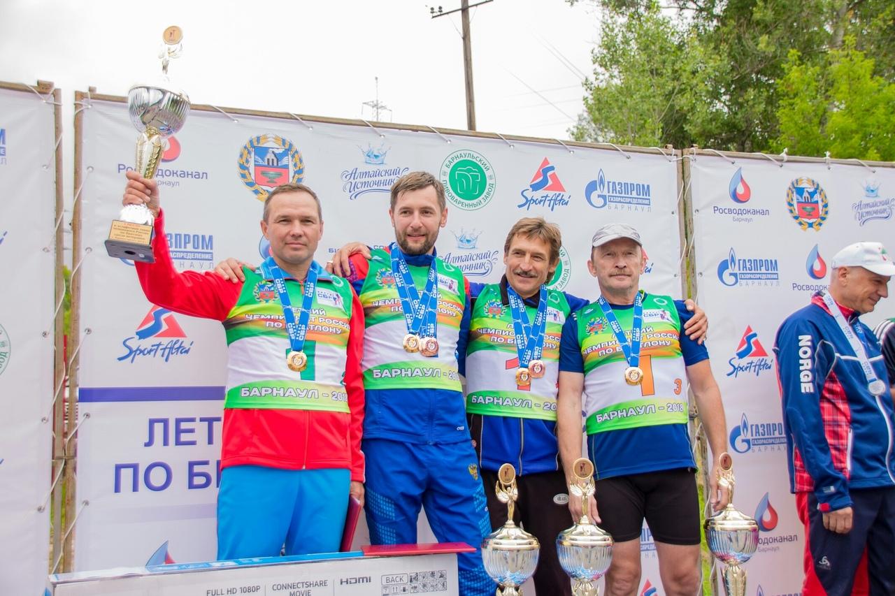Успех северчан на летнем чемпионате России по биатлону среди ветеранов