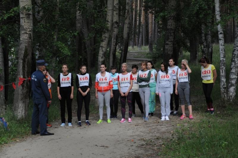 В городе состоялся легкоатлетический кросс среди сотрудников МЧС