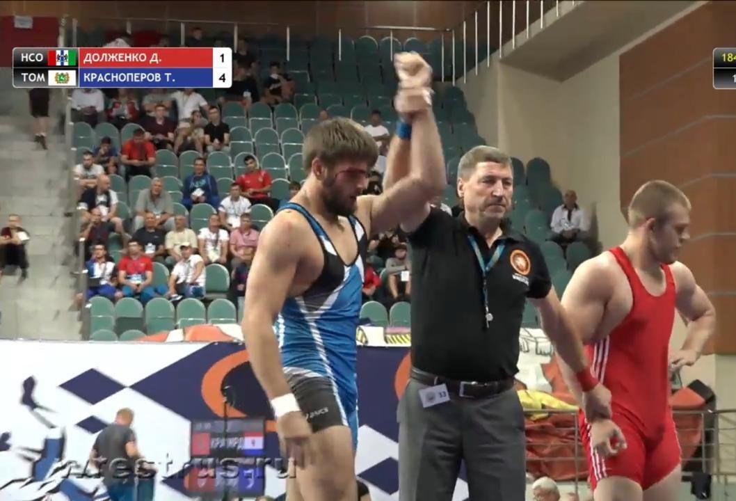 Тимофей Красноперов успешно показал себя на Чемпионате России