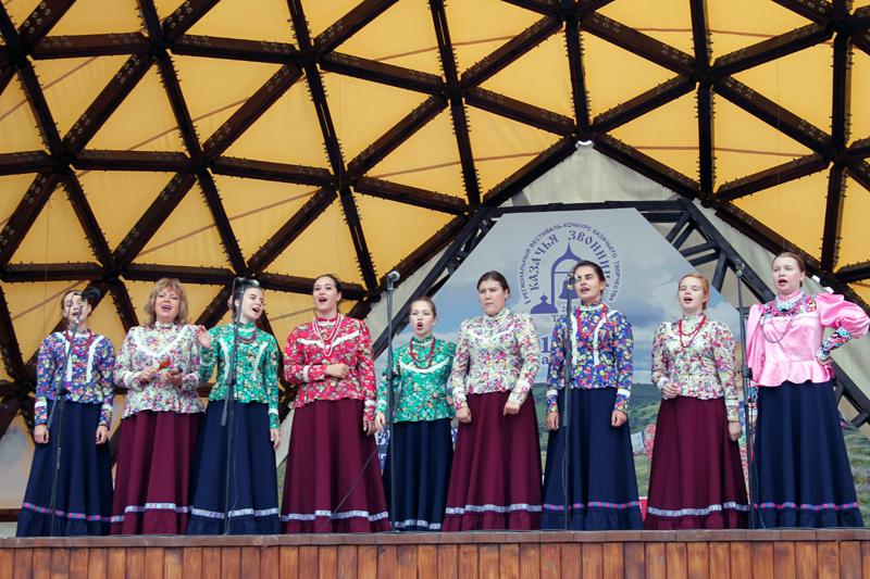 Ансамбль народной песни «Садко» принял участие в фестивале «Казачья звонница»