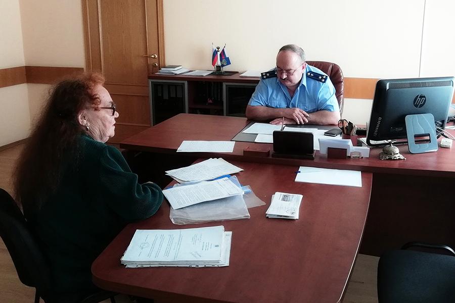 Заместитель прокурора Томской области Игорь Кошель провел прием граждан