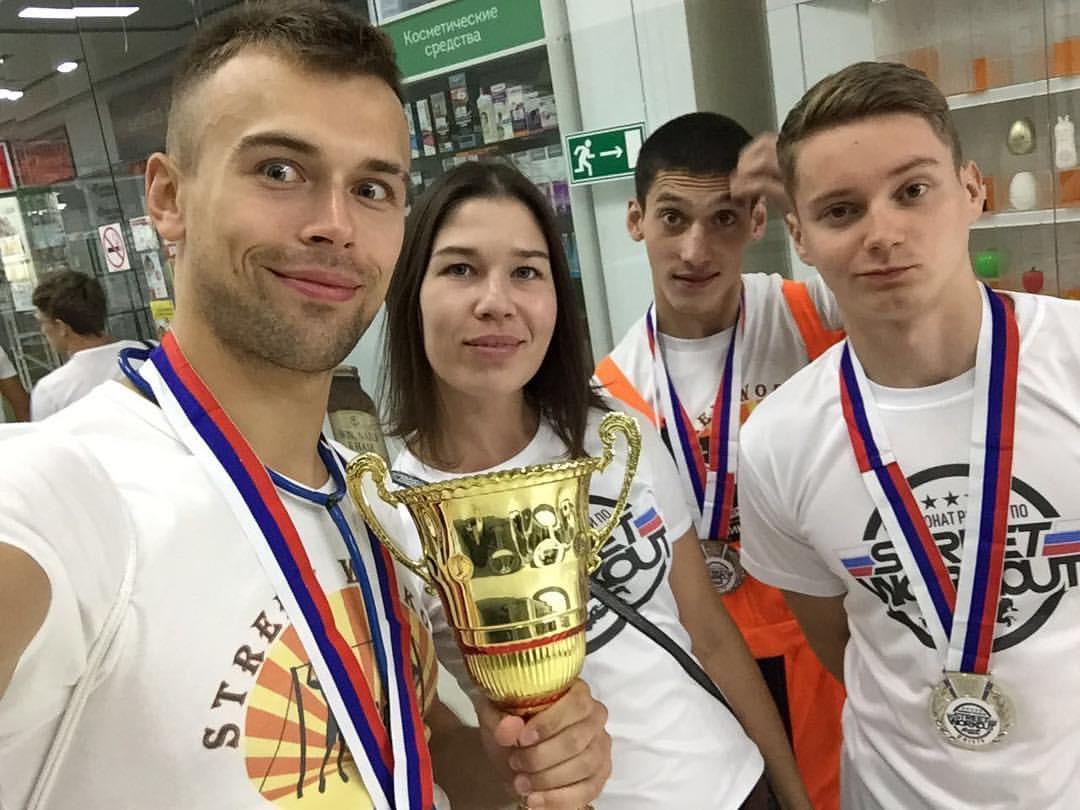 Серебряные призёры Чемпионата России по STREET WORKOUT 2018