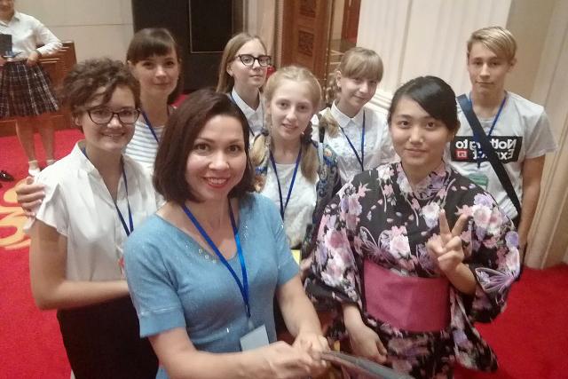Северские школьники приняли участие в международном экологическом симпозиуме