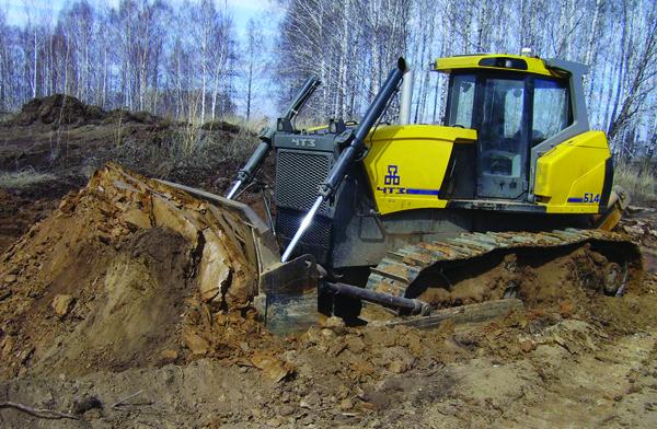 Челябинский тракторный завод поставил СХК бульдозеры с защитой от радиации