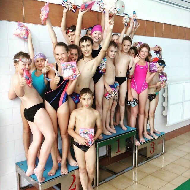 Набор детей на курс «Умею плавать»