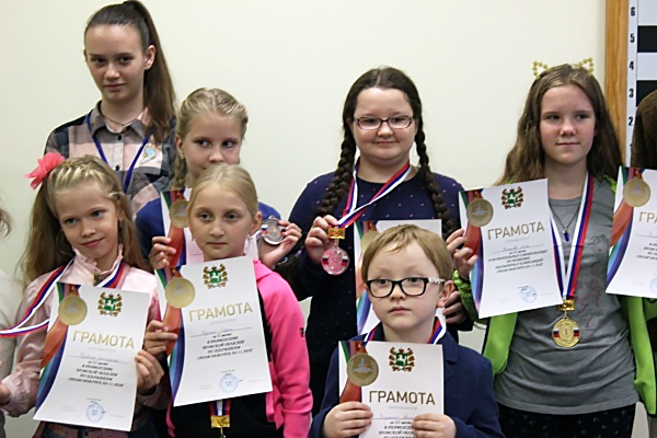 40 юных шахматистов сыграли на Первенстве Томской области