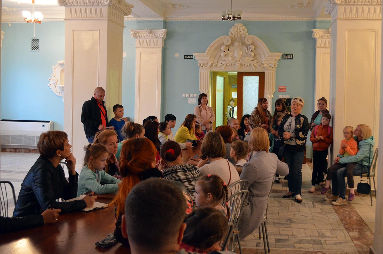 В Доме культуры состоялось ежегодное собрание родителей