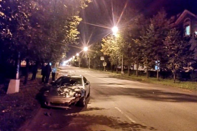 Начинающий водитель сбил женщину
