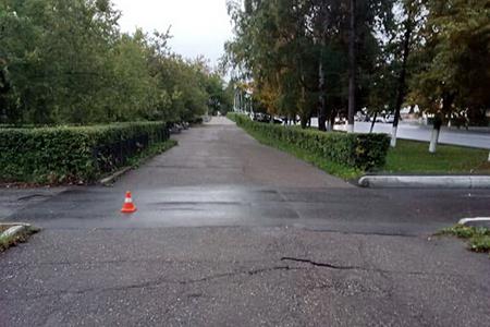 В Северске автомобиль сбил 70-летнюю женщину