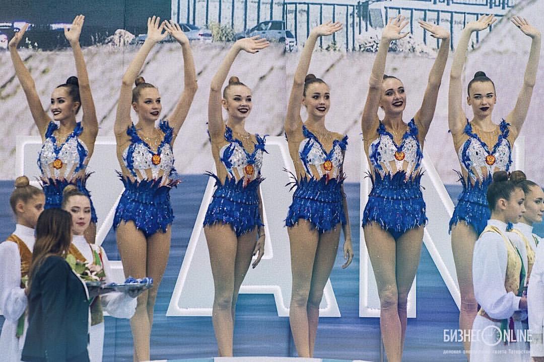 Анастасия Шишмакова стала чемпионкой мира по художественной гимнастике