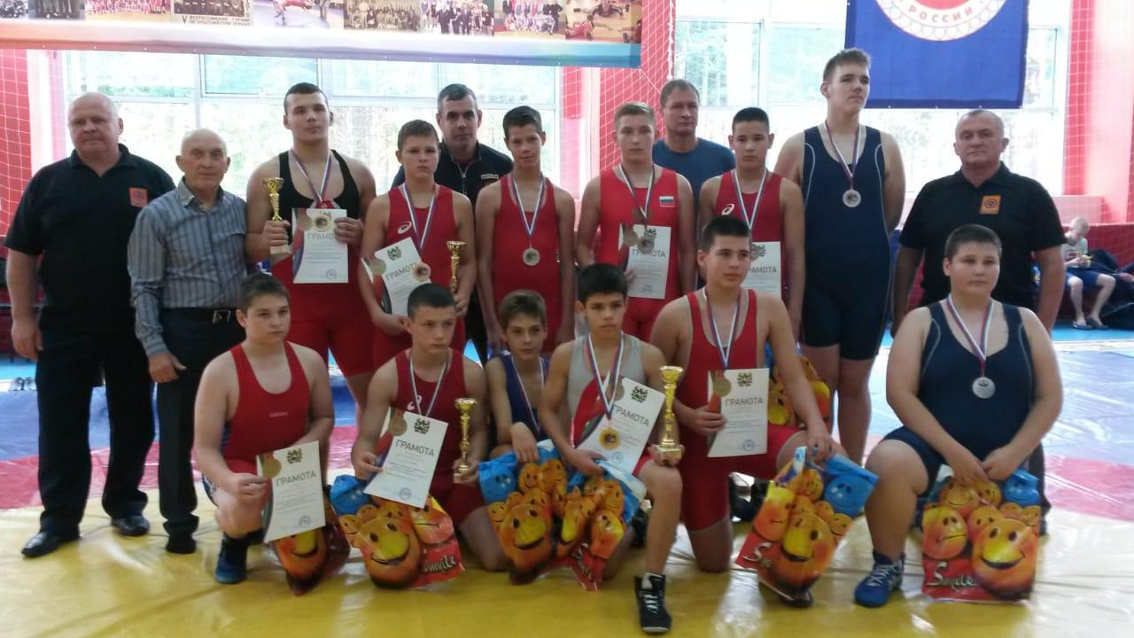 Северчане порадовали результатами на прошедших соревнованиях по греко-римской борьбе