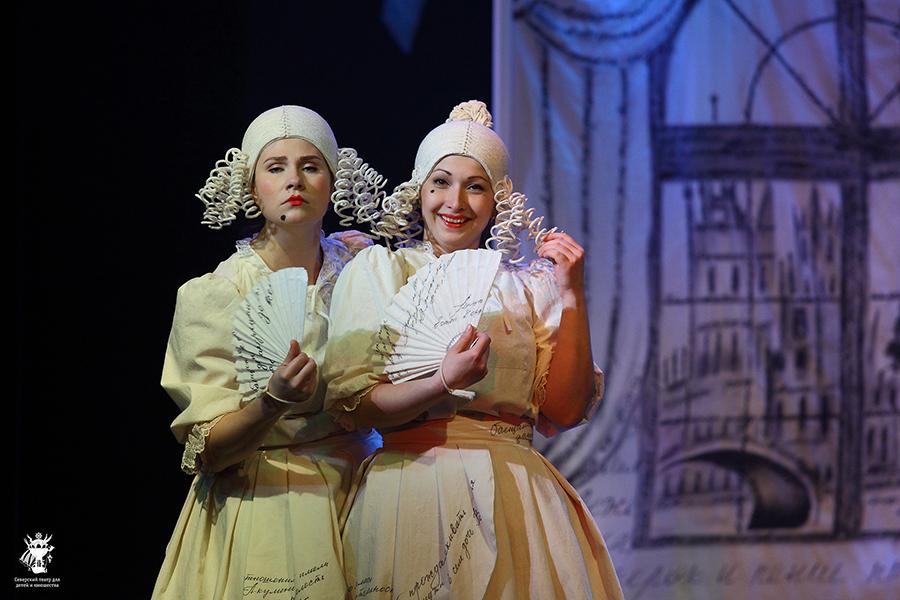 Приглашаем  зрителей на премьерный показ спектакля «Барышня-крестьянка»