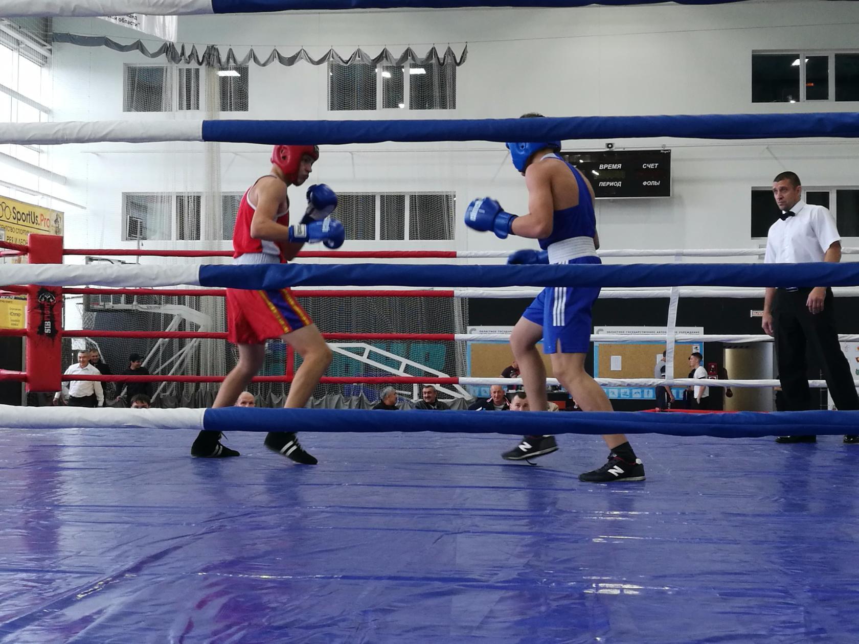 Открытые региональные соревнования по боксу