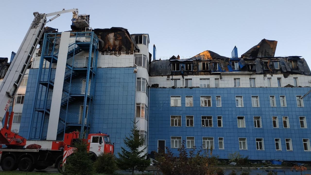 В Северске открыт пункт сбора вещей для погорельцев Академгородка