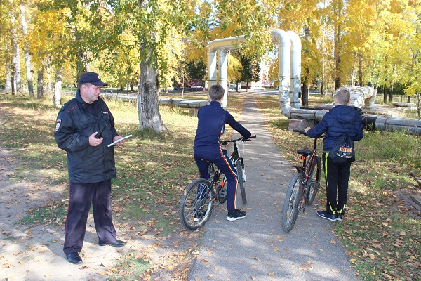 В Северске проведена оперативно-профилактическая операция «Велосипед»