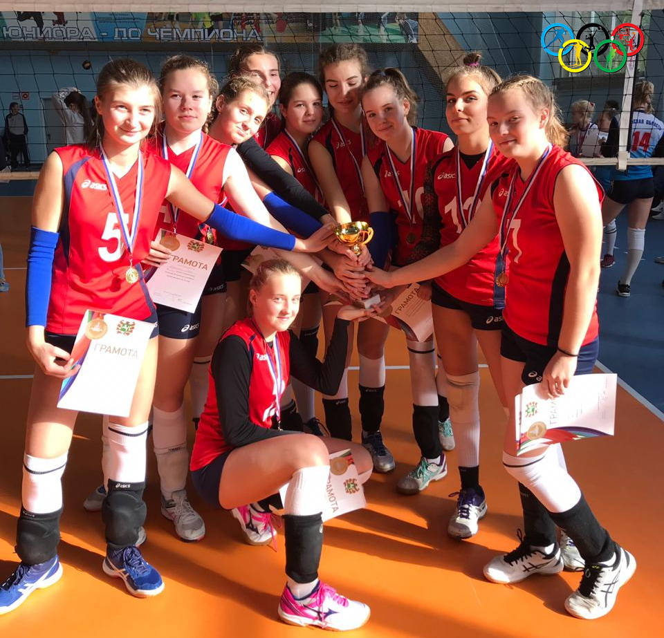 Северские волейболистки одержали победу в первенстве Томской области