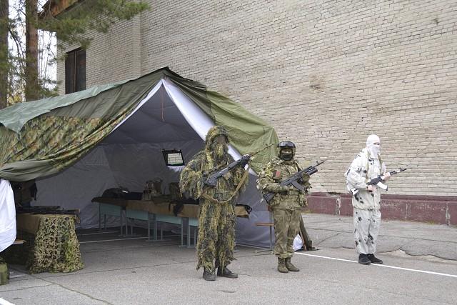 Открытие военно-патриотического центра