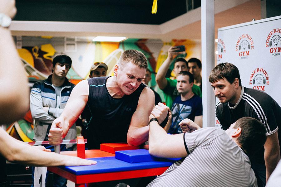 Победа на Чемпионате области по армрестлингу