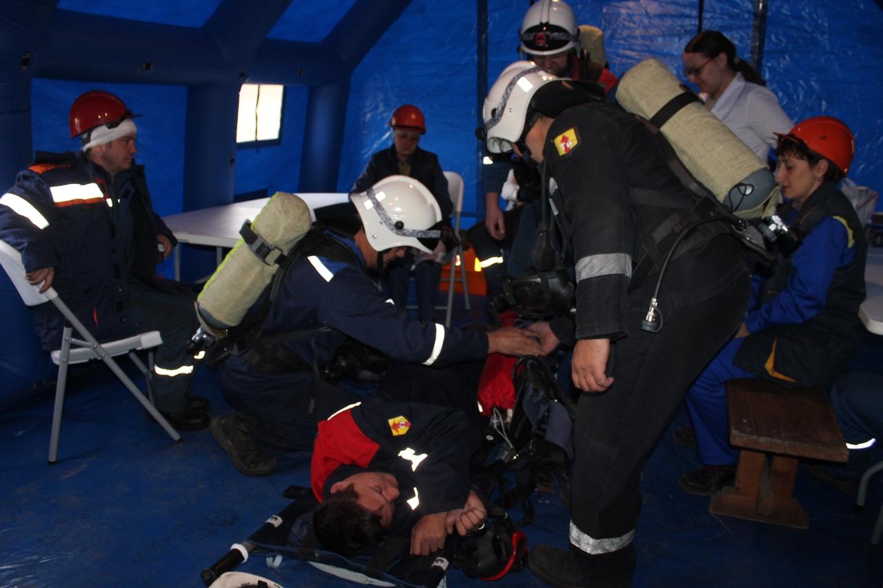 Сотрудники приняли участие во Всероссийской тренировке по гражданской обороне