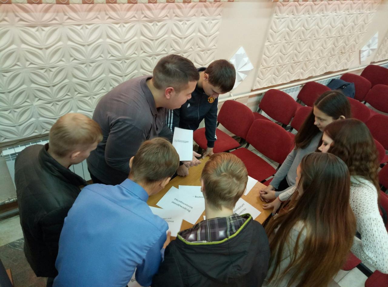 Первокурсники СПК прошли первый этап обучения в рамках региональной школы волонтеров